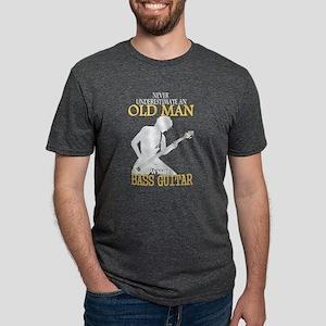 Old Man With A Bass Guitar T Shirt T-Shirt