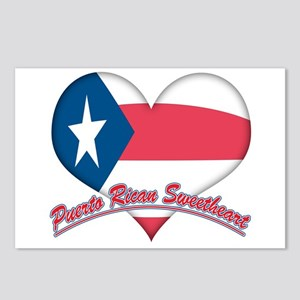 Puerto Rican Sweetheart Postcards (Package of 8)