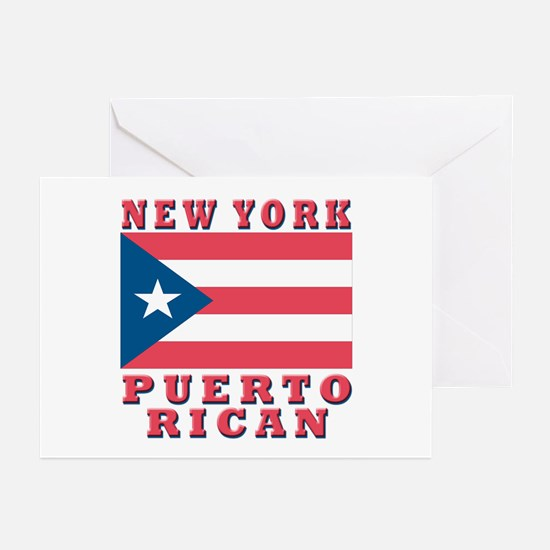 New York Puerto Rican Greeting Cards (Pk of 10
