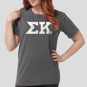 Sigma Kappa Letters Womens Comfort Colors Shirt