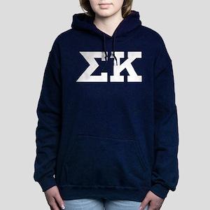 Sigma Kappa Letters Women's Hooded Sweatshirt