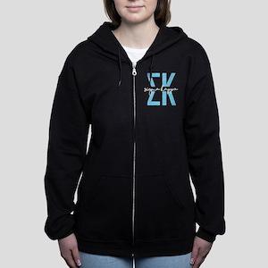 Sigma Kappa Polka Dots Women's Zip Hoodie
