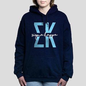 Sigma Kappa Polka Dots Women's Hooded Sweatshirt