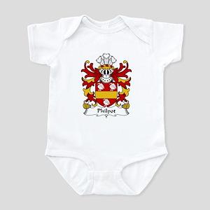 Philpot Family Crest Infant Bodysuit