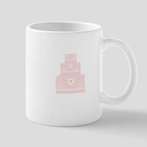 Pink Cake Mugs