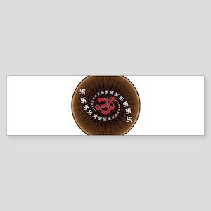 Om Design Sacred Sound Spiritual Me Bumper Sticker