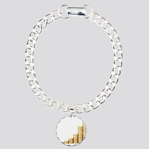 Coins Charm Bracelet, One Charm