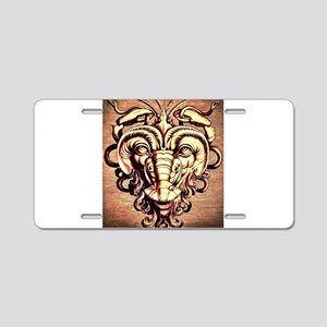 mask style 3 The dragon mas Aluminum License Plate