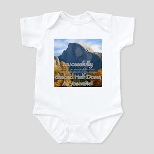 I climbed Half Dome Infant Bodysuit