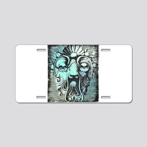Mask Style6 Aluminum License Plate