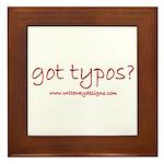 Got Typos? Framed Tile