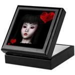 Pretty Gothic Doll Keepsake Box