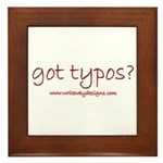 Got Typos? Framed Tile