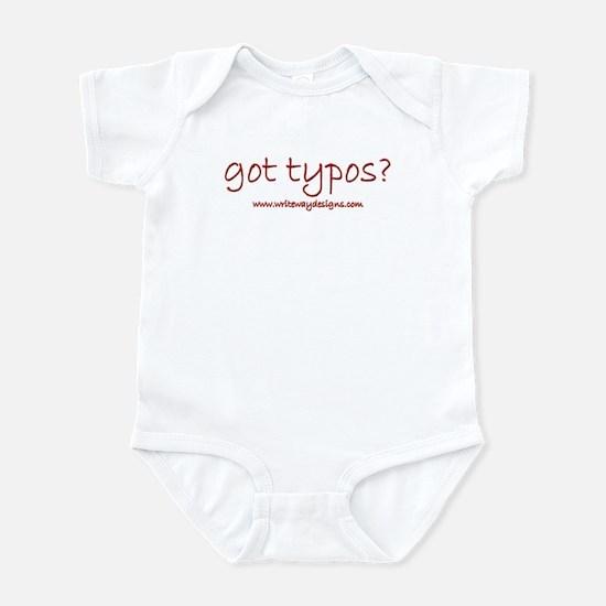 Got Typos? Infant Bodysuit