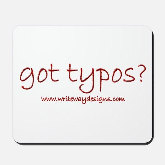 Got Typos? Mousepad