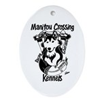MCK 2008 Iditarod/Beargrease Oval Ornament