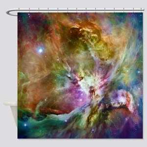 Orion Nebula Galaxy Space Photo Shower Curtain