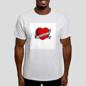 Tattoo Unavilable Ash Grey T-Shirt
