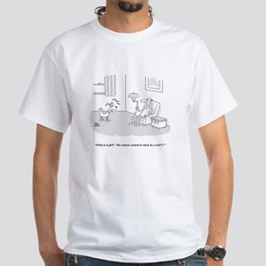 Remote Control White T-Shirt