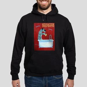 Schnauzer Bath Salts Hoodie (dark)