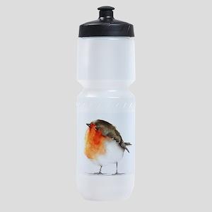 BIRD IN WATER COLR Sports Bottle