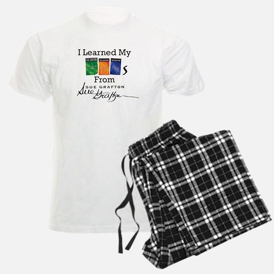 I Learned My ABCs Pajamas