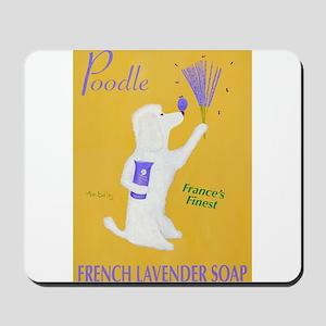 Poodle French Lavender Soap Mousepad