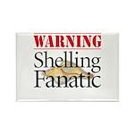 Shelling Fanatic - Rectangle Magnet