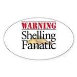 Shelling Fanatic - Oval Sticker