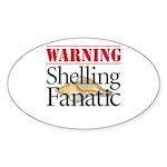 Shelling Fanatic - Oval Sticker