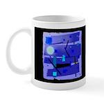 Egypt Blue Dark Mug
