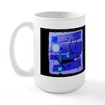 Egypt Blue Dark Large Mug