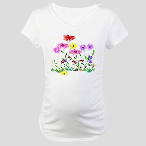Flower Bunch Maternity T-Shirt