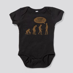Evolution is following me Infant Bodysuit Body Sui