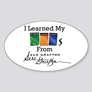 I Learned My ABCs Sticker