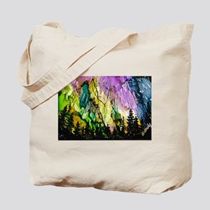 Forest Aurora Tote Bag