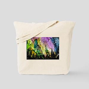 Forest Aurora Tote Bag