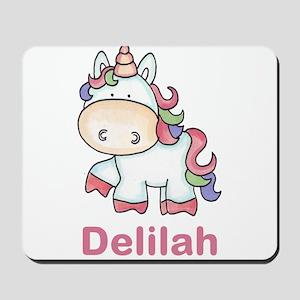 Delilah's Sweet Unicorn Mousepad