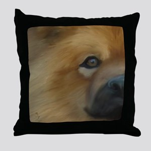 Beautiful Side View Chow Chow Throw Pillow