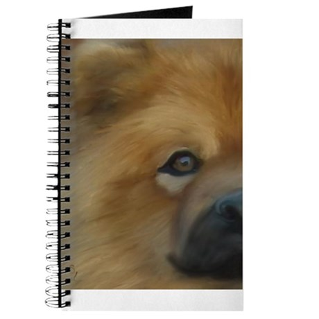 Beautiful Side View Chow Chow Journal