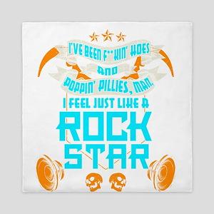 I Feel Just Like A Rock Star Queen Duvet