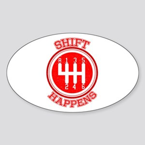 Shift Happens - Car Lover Sticker