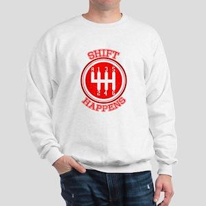 Shift Happens - Car Lover Sweatshirt