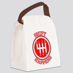 Shift Happens - Car Lover Canvas Lunch Bag