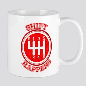 Shift Happens - Car Lover Mugs