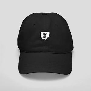 Ohio Gymnastics Mom Shirt Wom Black Cap with Patch