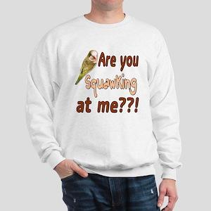 Squawking Quaker Parrot Sweatshirt