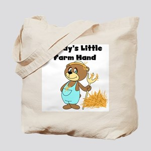 Daddy's Little Farmhand Tote Bag