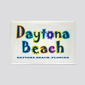 Tropical Daytona - Rectangle Magnet