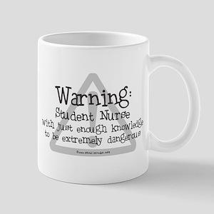 Student Nurse Warning Mug